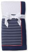 Little Me Breezy Sails Nautical Blanket