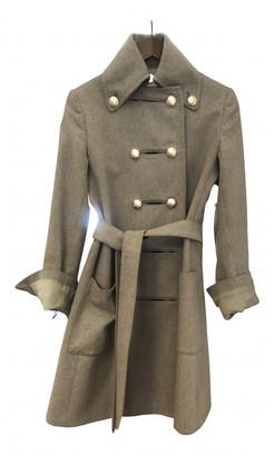 Stella McCartney Beige Wool Coats