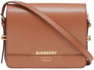 Burberry Small Two-tone Leather Grace Bag