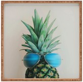 DENY Designs Chelsea Victoria Pineapple In Paradise Square Tray
