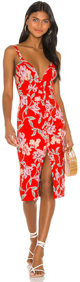 Privacy Please Lantana Midi Dress