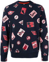 Paul Smith embroidered patch sweatshirt - men - Cotton - S