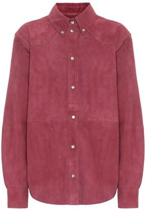 Etoile Isabel Marant Selina suede shirt