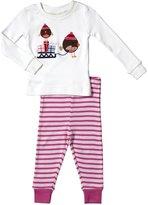 Jo-Jo JoJo Maman Bebe Jersey Long Pajamas (Baby) - Robin-12-18 Months