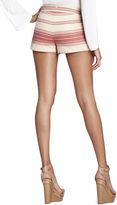 BCBGMAXAZRIA Renee Striped Casual Short
