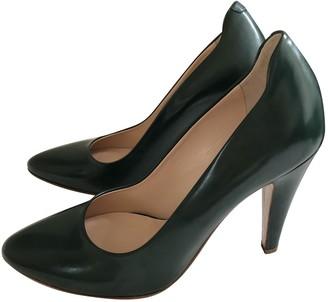 Bally Green Leather Heels