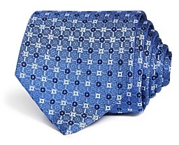Eton Mini Square Medallion Silk Classic Tie