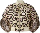 Givenchy cocoon sleeves bomber jacket - women - Polyamide/Polyester - 36