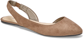 Wet Seal Taupe Slingback Flat
