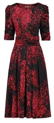 Dorothy Perkins Womens Jolie Moi Black Printed Skater Dress, Black