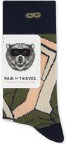 Boy London Patterned Cotton-blend Crew Socks