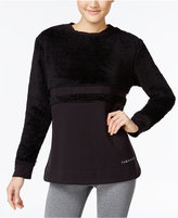 Jessica Simpson The Warm Up Juniors' Fleece-Inset Sweatshirt