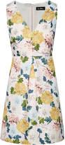 Sam Edelman Floral Jaquard A-Line Dress