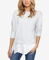 Sanctuary Ally Layered-Look Tie-Hem Sweater