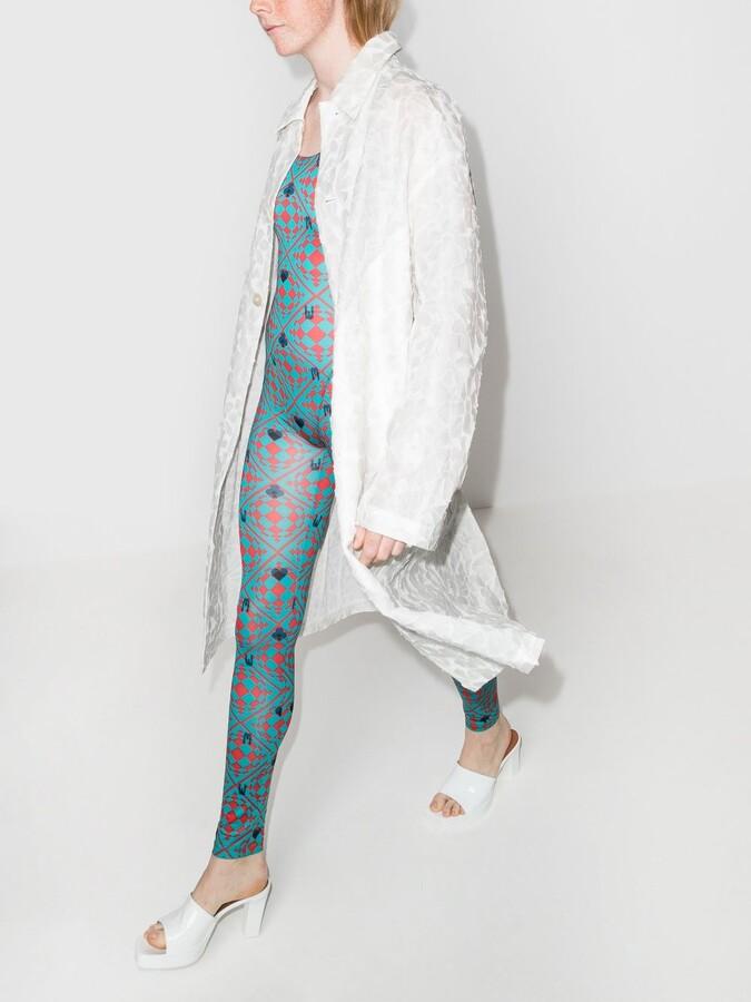 Thumbnail for your product : MAISIE WILEN Blue Revenge Body Cotton Jumpsuit