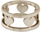 Tiffany & Co. Cut-Out Heart Band Ring
