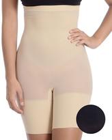 Body Beautiful Women's Underwear BLACK/NUDE - Nude & Black High-Waist Shaper Shorts Set - Women
