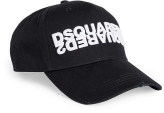 DSQUARED2 3D Logo Embroidery Baseball Cap