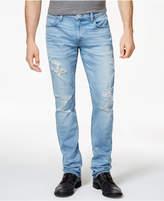 Hudson Men's Slouchy Skinny-Fit Stretch Destroyed Jeans