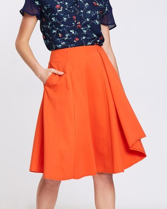 Privilege Women's Skirts - Neoprene Skirt - Size One Size, 10 at The Iconic