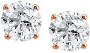 Giani Bernini Cubic Zirconia Sterling Silver Stud Earrings, Created for Macy's