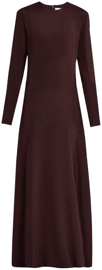 Raey Long-sleeved silk gown