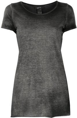 Avant Toi V-neck patch pocket T-shirt