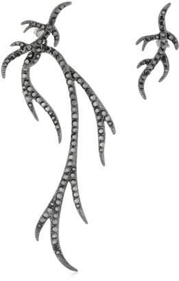 FEDERICA TOSI Twig Asymmetrical Earrings