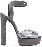 Casadei two-tone platform sandals