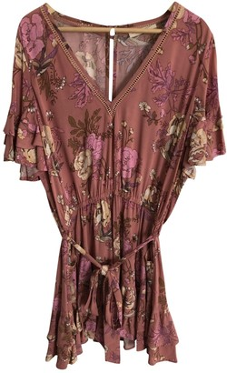Spell & The Gypsy Collective Pink Cotton Dress for Women