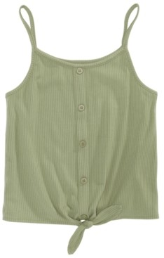 Epic Threads Big Girls Tie-Front Tank Top, Created for Macy's