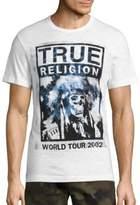 True Religion Skull Head Graphic Tee