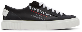 Givenchy Black Tennis Sneakers