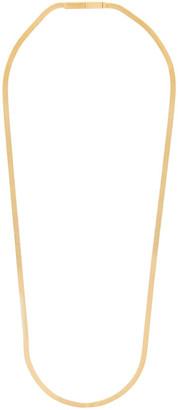 Bottega Veneta Gold Herringbone Chain Necklace
