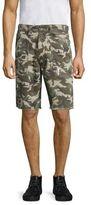 True Religion Camouflage Print Shorts