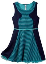 Beautees Belted Dress (Big Girls)