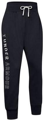 Under Armour Unstoppable Double Knit Slouch Sweatpants (Big Girls)