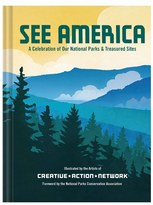 Chronicle Books 'see America - A Celebration Of Our National Parks & Treasured Sites' Book
