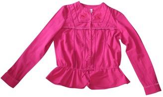Paul & Joe Sister Pink Cotton Top for Women