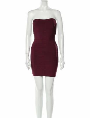 Herve Leger 2020 Mini Dress