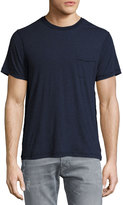 Joe's Jeans Hughes Inside-Out T-Shirt, Blue