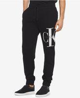 Calvin Klein Jeans Men's Reissue Graphic-Print Logo Joggers