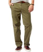 Dockers Washed Khaki Classic Fit Flat Front Pants