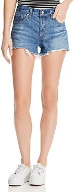 Levi's 501 Cutoff Denim Shorts in Indigo Ave