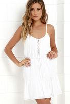 BB Dakota Finella Ivory Lace Dress