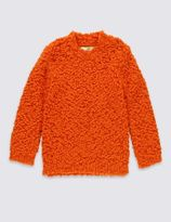 Marks and Spencer Pom-Pom Long Sleeve Jumper (1-7 Years)