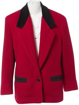 Byblos Red Wool Jackets