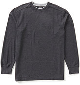 Roundtree & Yorke Long Sleeve Solid Double Crew