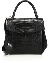Nancy Gonzalez Oversized Crocodile Satchel