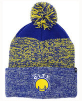 '47 Golden State Warriors Black Static Pom Knit Hat